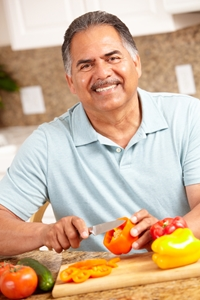 eating plentiful amounts of vegetables is a key component of a mediterranean diet for an ageing-friendly lifestyle