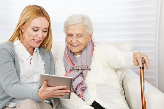 How can seniors protect themselves when shopping online