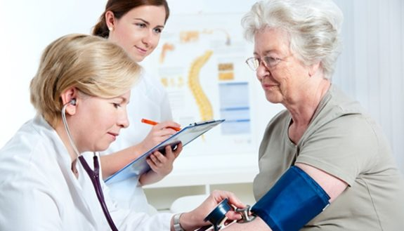 how does blood pressure affect the elderly